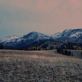 Mountain sunrise  by D.j. Nichols - Instagram & Mobile Android ( sunrise )