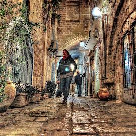 Jaffa by Dong Leoj - City,  Street & Park  Street Scenes ( street&park, city )