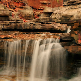 FANTASY by Dana Johnson - Landscapes Waterscapes ( stream, waterscape, cascade, falls, waterfall, lanscape )