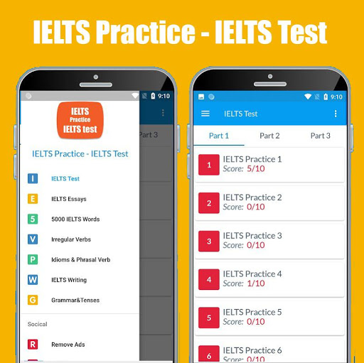 IELTS Practice & IELTS Test (Vocabulary - Writing) screenshot 1