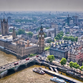 London by Eduard Andrica - City,  Street & Park  Vistas