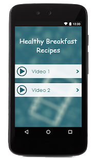 Healthy Breakfast Recipes - screenshot