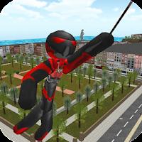 Stickman Rope Hero pour PC (Windows / Mac)