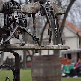 Steel man by Alek Sandra - Artistic Objects Other Objects