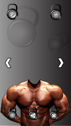 android Bodybuilder Photo Montage Screenshot 3