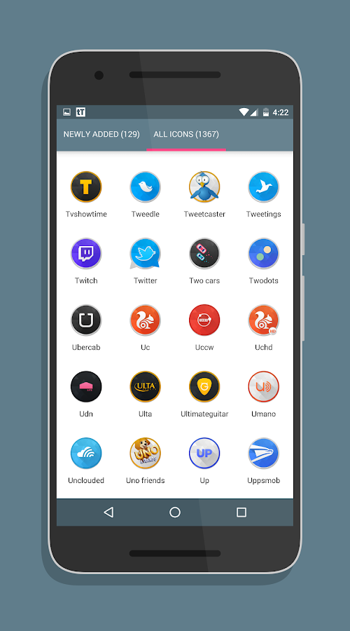 SwishHD - Icon Pack Screenshot 2