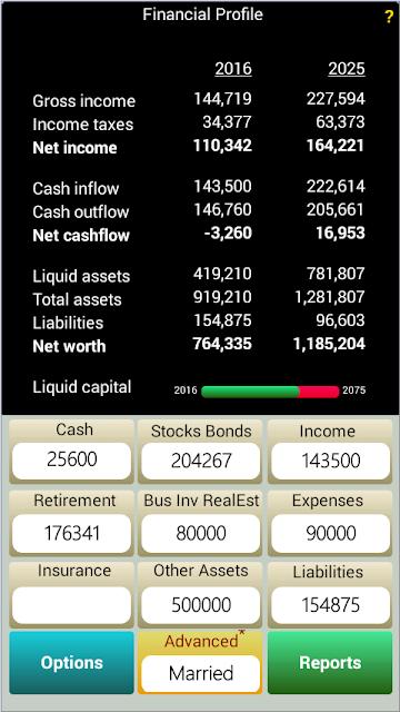 PlanMode Financial Planning screenshots
