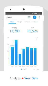 Pedometer & Weight Loss Coach APK screenshot thumbnail 5