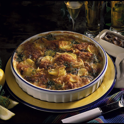 Jansson's Temptation - Swedish Potato and Anchovy Casserole