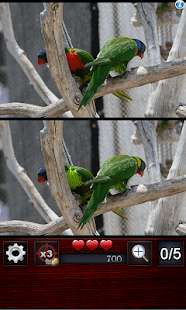 Game Find the differences 150 level APK for Kindle