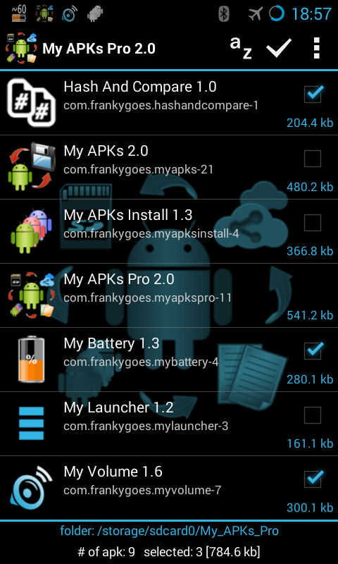 My APKs Pro backup manage apps Screenshot 0