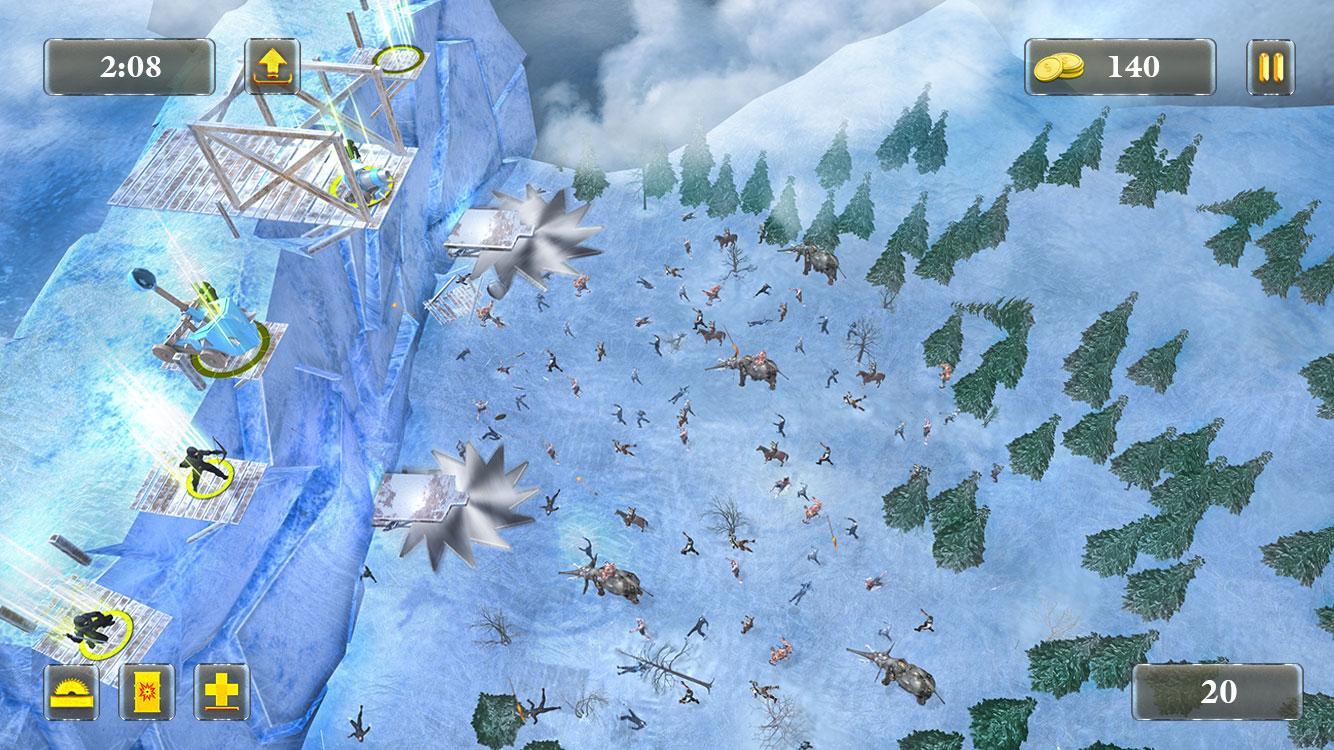 Epische Schlossverteidigungsstrategie - Kampfsimulator android spiele download