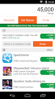 Screenshot of AppNana - Free Gift Cards