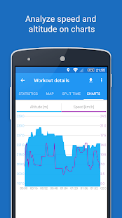 GPS Sports Tracker - Running & Cycling Screenshot
