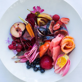 Red Salad with Pickled Beet Vinaigrette