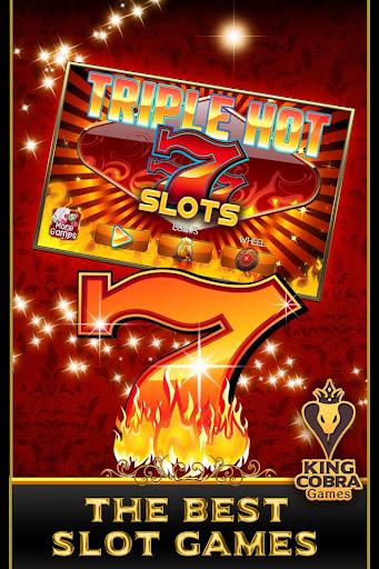 Triple Hot Sevens Slots - screenshot