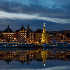 Stockholm Sweden by Kennet Brandt - City,  Street & Park  Skylines