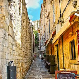 Dubrovnik,CRO by Branko Cesnik - City,  Street & Park  Street Scenes