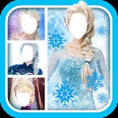 Download Ice Frozen Queen Montage Maker APK to PC