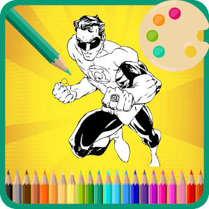 Download Coloring Pages Book For Super Hero Squad Game For PC Windows and Mac