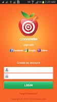 Screenshot of CRON-O-Meter