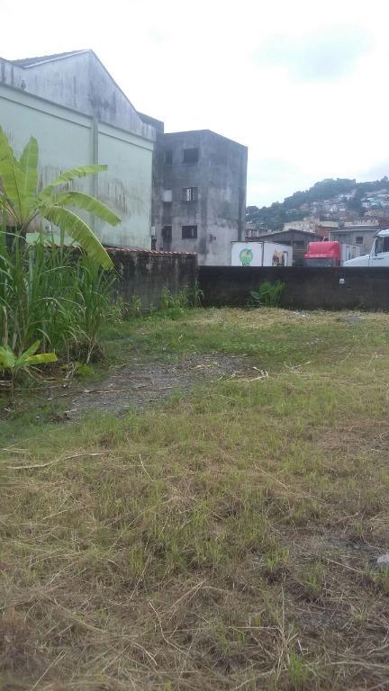 Terreno à venda, 1900 m² por R$ 2.820.000,00 - Chico de Paula - Santos/SP