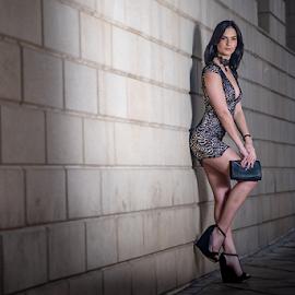 Charne Fashion by Gerrit de Graaff - People Portraits of Women ( photooftheday, dress, nikon d, beauty, heels, photomanipulation, photo, nikon, beautiful, location, photographer, fashion photography, photography, fashion )
