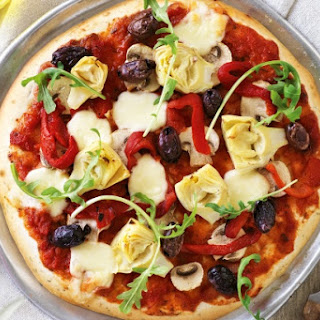 Gluten Free and Low Fat Vegetarian Pizza