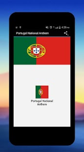 Portugal National Anthem - screenshot