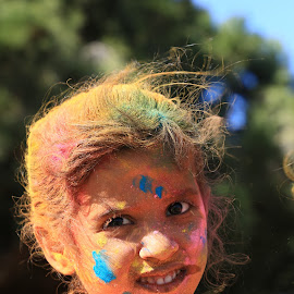 Holi : Festival of color by Kaushik Bera - Babies & Children Child Portraits (  )