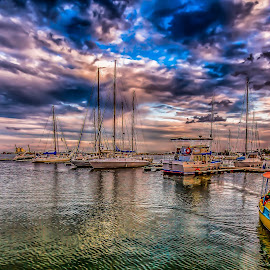 Mangalia by Claudiu Copcea - Transportation Boats