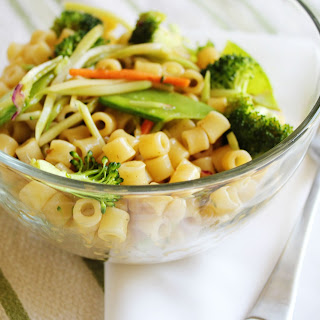 Ginger Sesame Pasta Salad Recipes