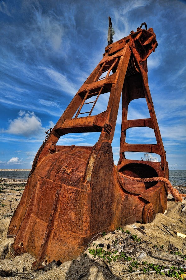 Rusty by Mohammad Fairuz - Products & Objects Industrial Objects ( hdr, beach, rusty, steel )