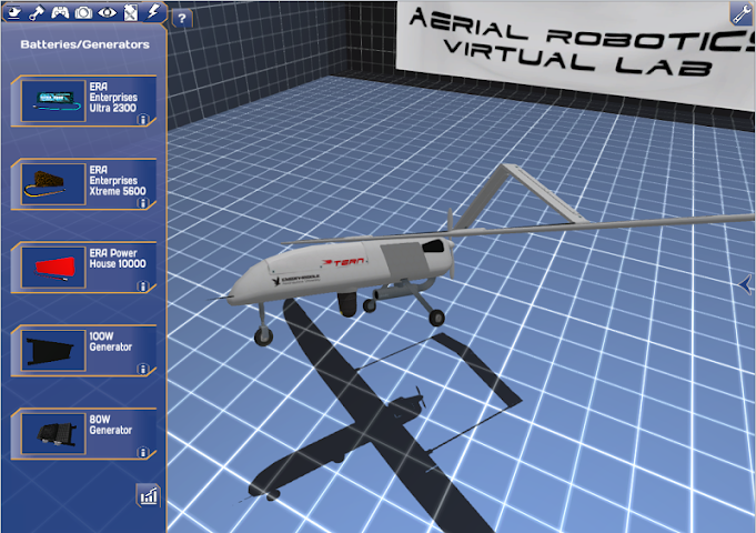 android Aerial Robotics Virtual Lab2 Screenshot 0