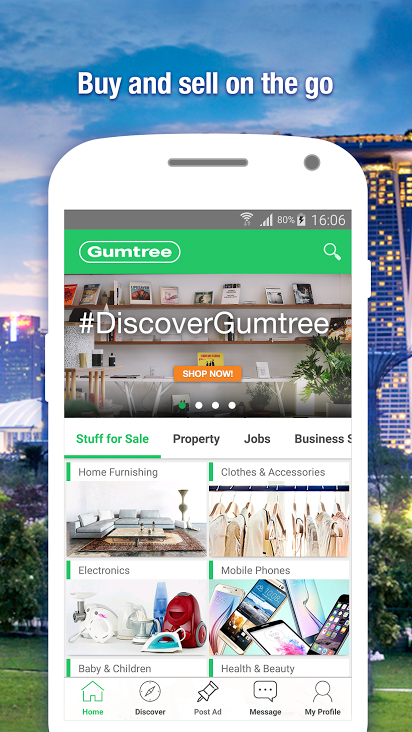 Gumtree SG Classifieds & Jobs Screenshot