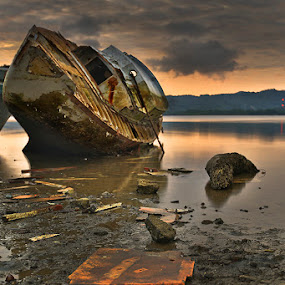 The End by Rudy Harianto - Transportation Boats