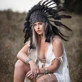 Location shoot by Chris O'Brien - People Portraits of Women ( girl, location, woman, beautiful, summer, indian, beauty )