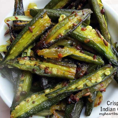Crispy Indian Okra