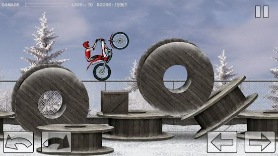 Bike Trial Snow Ride- screenshot thumbnail
