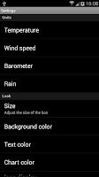 Screenshot of Weather Personal Widget