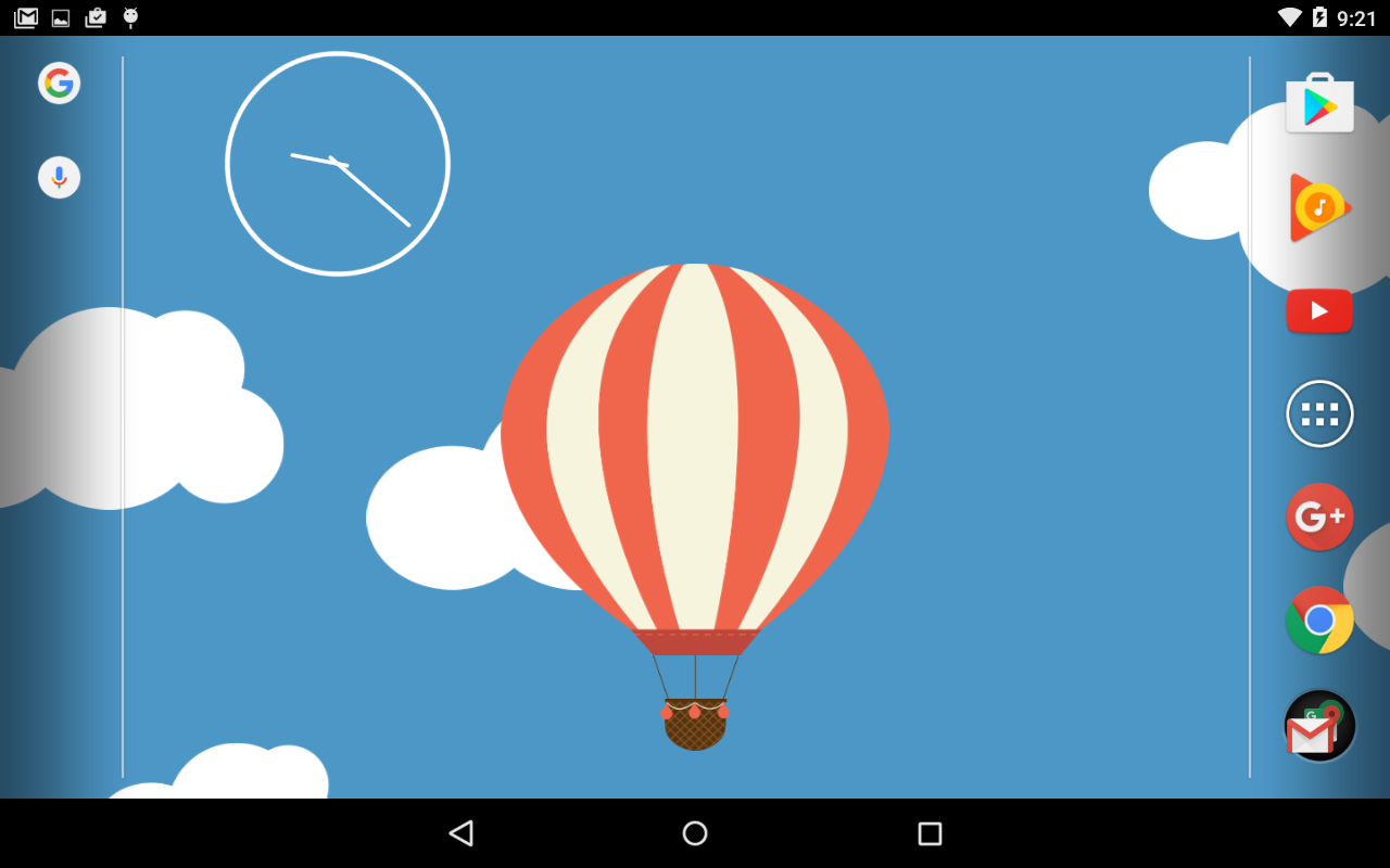 Relax Ballon Live Wallpaper Screenshot 3