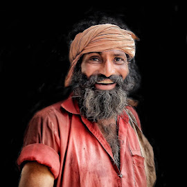 Portrait  by Neeraj Kumar - Uncategorized All Uncategorized ( #lpeople#baba# )
