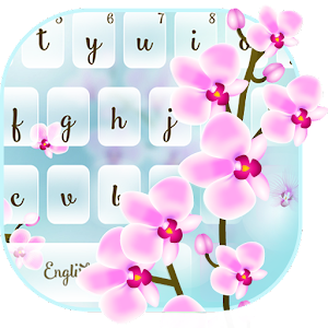 Orchid Floral Typewriter For PC