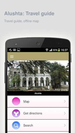 Alushta: Offline travel guide - screenshot