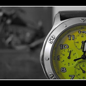 Time Piece By TITAN by Alay Shah - Artistic Objects Other Objects ( colour, time, advertise, titan, watch, yellow, colour ascent mode )