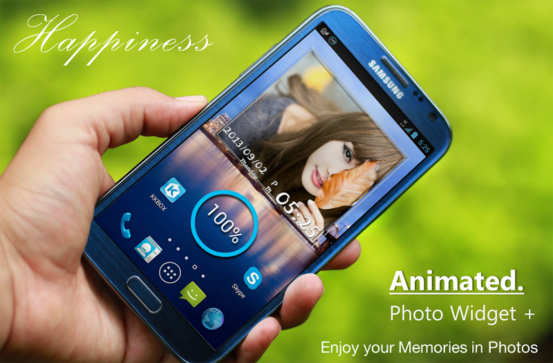 Animated Photo Widget + Screenshot 0