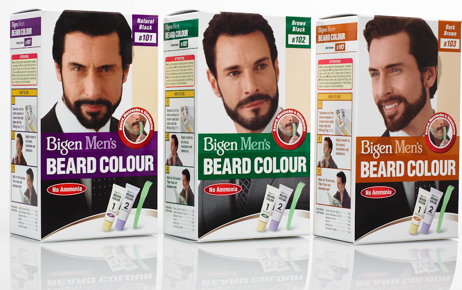 Bigen Mens Beard