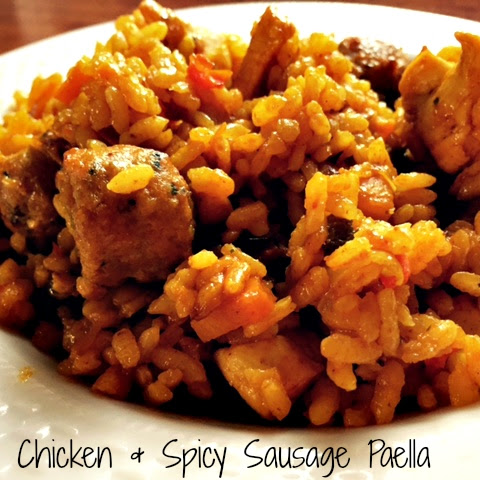 Chicken & Spicy Sausage Paella