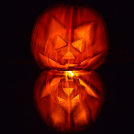 Halloween Dream by Fabrizio Reali - Abstract Light Painting ( macro, nature, pumpkin, dream, photo, halloween )