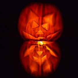 Halloween Dream by Fabrizio Reali - Abstract Light Painting ( macro, nature, pumpkin, dream, photo, halloween,  )